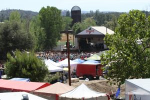 Strawberry Music Festival in Tuolumne, California -Fall 2015