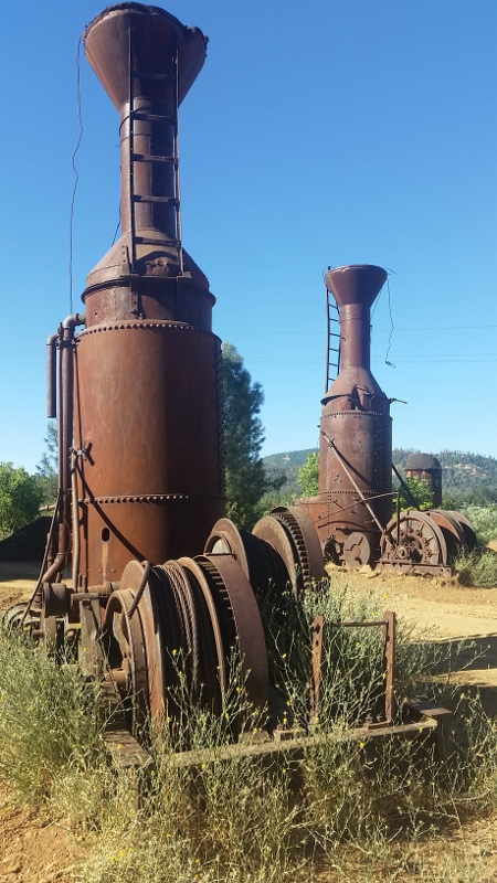 Rusty relics of Westside   Strawberry Music Festival